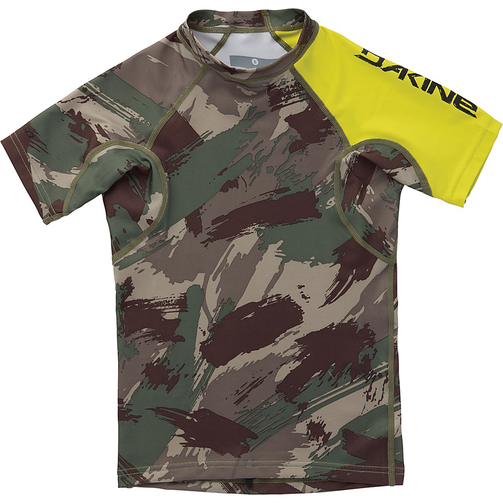 DAKINE Boys Heavy Duty Snug Fit Short Sleeve 6 - Camo - DAKINE Womens Apparel - Apparel & Footwear, Women's Apparel