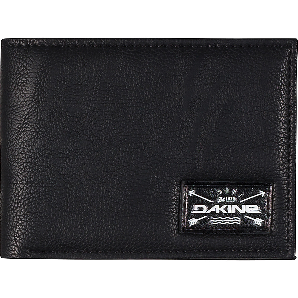 DAKINE Riggs Wallet Black - DAKINE Mens Wallets - Work Bags & Briefcases, Men's Wallets