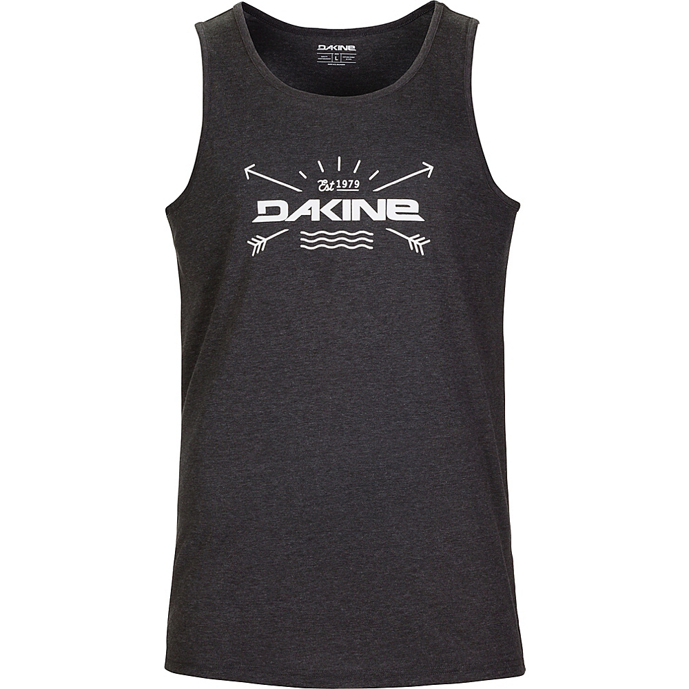 DAKINE Mens Tech Tank L - Heather Black - DAKINE Mens Apparel - Apparel & Footwear, Men's Apparel