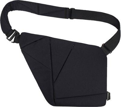 Baggizmo Textile Bag Jet Black - Baggizmo Other Men's Bags