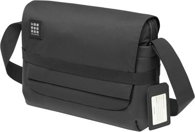 Moleskine ID Messenger Bag Black - Moleskine Laptop Messe...