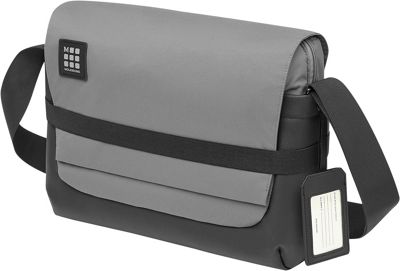 Moleskine ID Messenger Bag Slate Grey - Moleskine Laptop ...