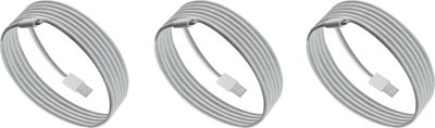 PURTECH Apple MFI Certified Lightning Cable 10 Feet Strong Jacket - Sync/Charge - 3PK White - PURTECH Electronic Accessories
