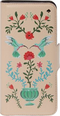 kate spade new york Hummingbird Folio iPhone 7 Case Multi - kate spade new york Electronic Cases