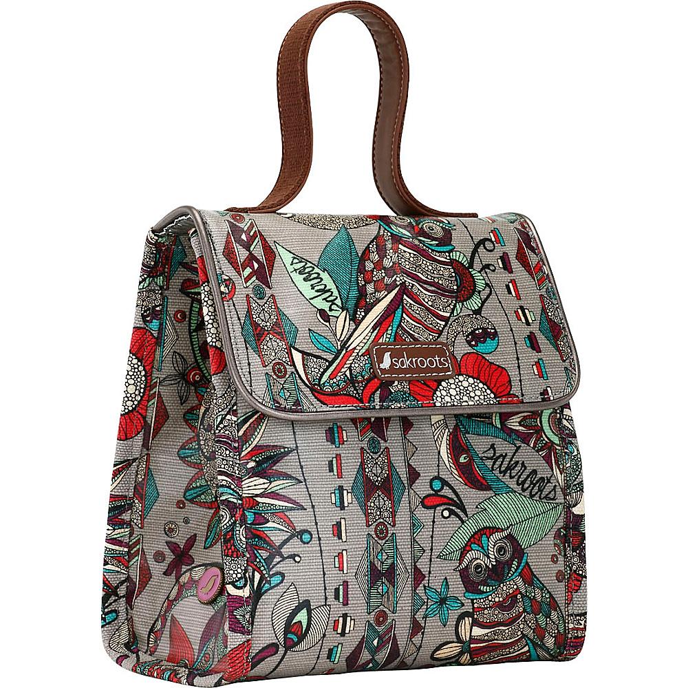 Sakroots Artist Circle Lunch Bag Charcoal Spirit Desert - Sakroots Travel Coolers - Travel Accessories, Travel Coolers