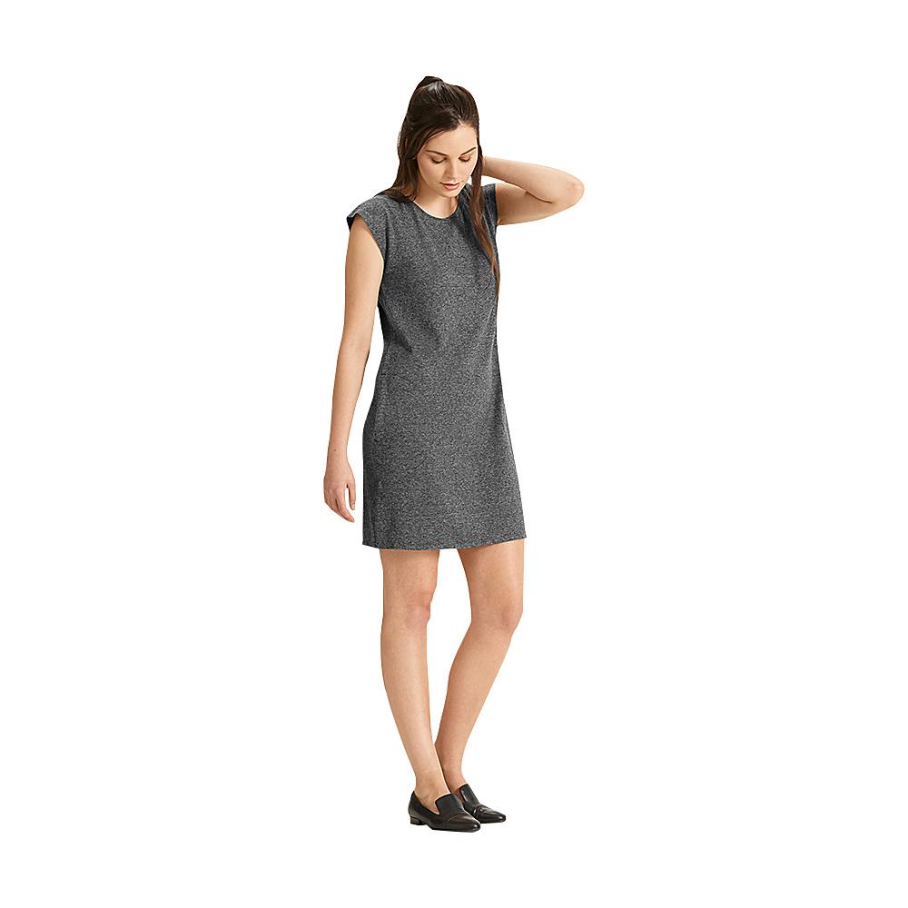NAU Clothing Womens Short Sleeve Kanab T-Shirt Dress L - Caviar Heather - NAU Clothing Womens Apparel - Apparel & Footwear, Women's Apparel