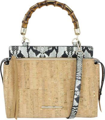 Elaine Turner Olive Satchel Cork - Elaine Turner Leather Handbags