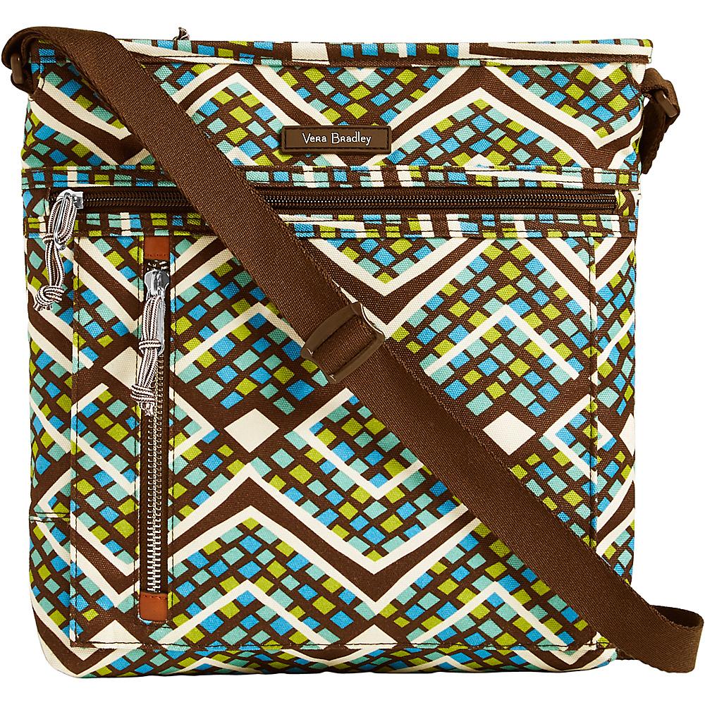 Vera Bradley Travel Ready Crossbody Rain Forest - Vera Bradley Fabric Handbags - Handbags, Fabric Handbags