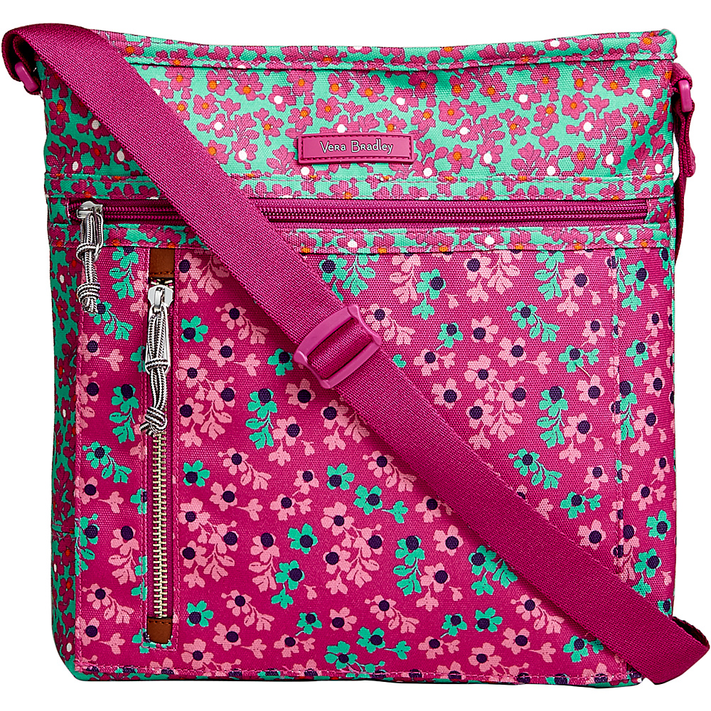 Vera Bradley Travel Ready Crossbody Ditsy Dot - Vera Bradley Fabric Handbags - Handbags, Fabric Handbags