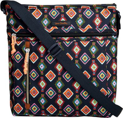 Vera Bradley Travel Ready Crossbody Mini Medallions - Vera Bradley Fabric Handbags