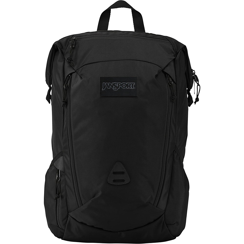 JanSport Shotwell Laptop Backpack Black Ballistic Nylon - JanSport Laptop Backpacks