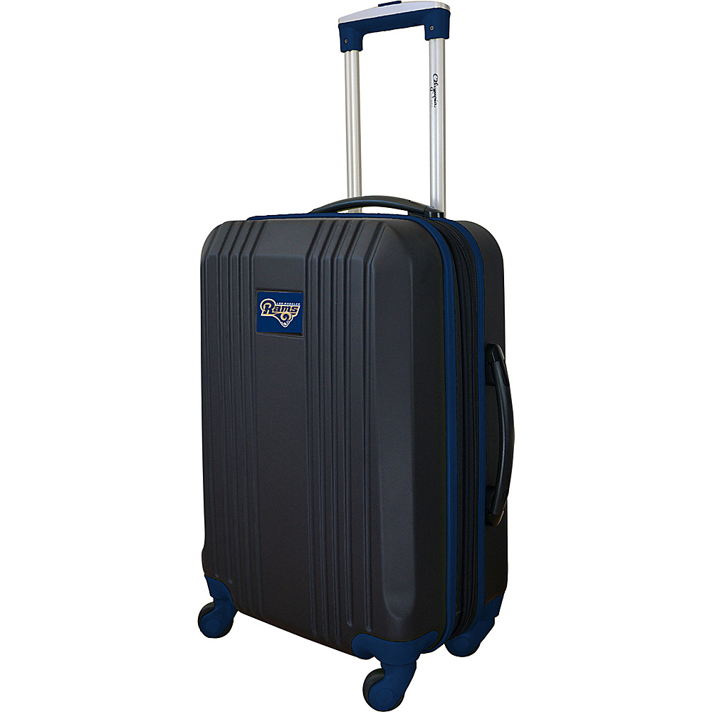 MOJO Denco 21 Carry-On Hardcase 2-Tone Spinner Los Angeles Rams - MOJO Denco Hardside Carry-On - Luggage, Hardside Carry-On