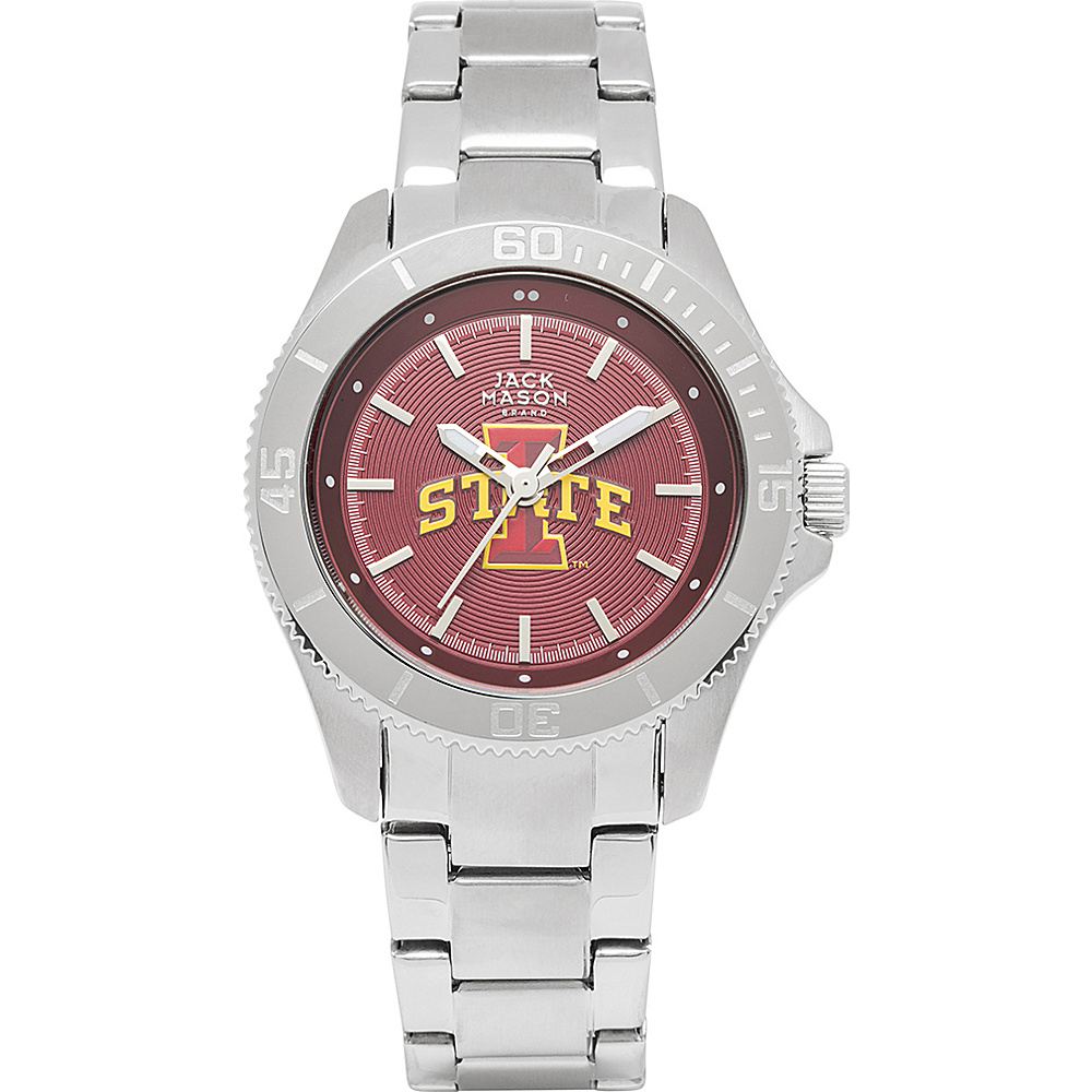 Jack Mason League NCAA Womens Team Color Dial Watch Iowa State Cyclones - Jack Mason League Watches - Fashion Accessories, Watches