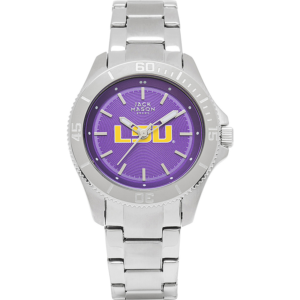 Jack Mason League NCAA Womens Team Color Dial Watch LSU Tigers - Jack Mason League Watches - Fashion Accessories, Watches