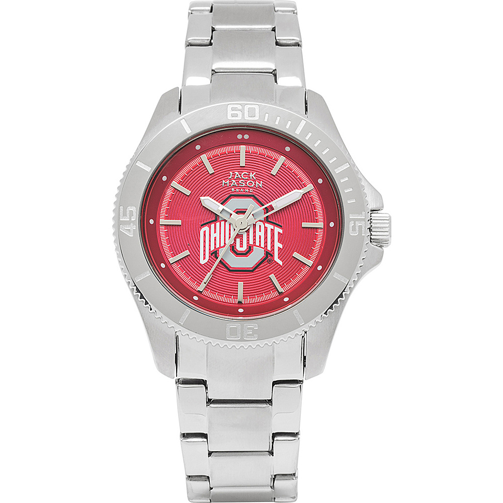 Jack Mason League NCAA Womens Team Color Dial Watch Ohio State Buckeyes - Jack Mason League Watches - Fashion Accessories, Watches