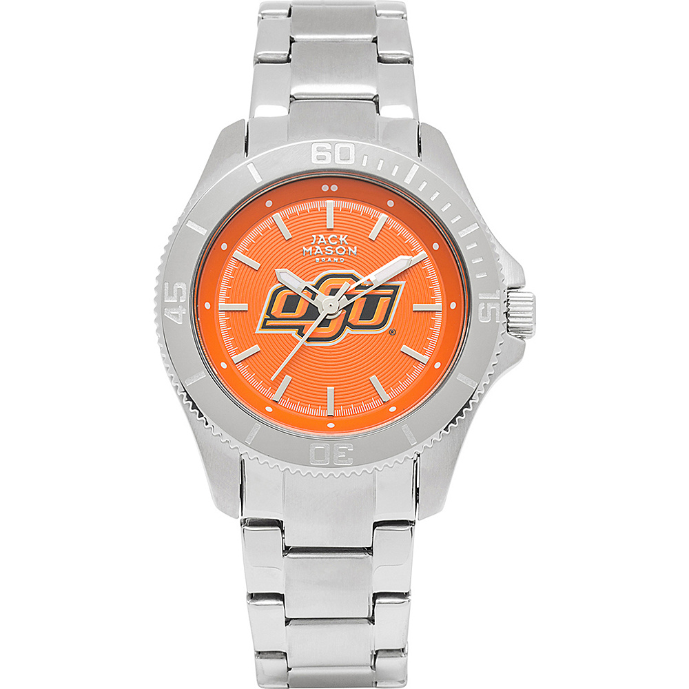 Jack Mason League NCAA Womens Team Color Dial Watch Oklahoma State Cowboys - Jack Mason League Watches - Fashion Accessories, Watches