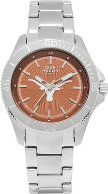 Jack Mason League NCAA Womens Team Color Dial Watch Texas Longhorns - Jack Mason League Watches