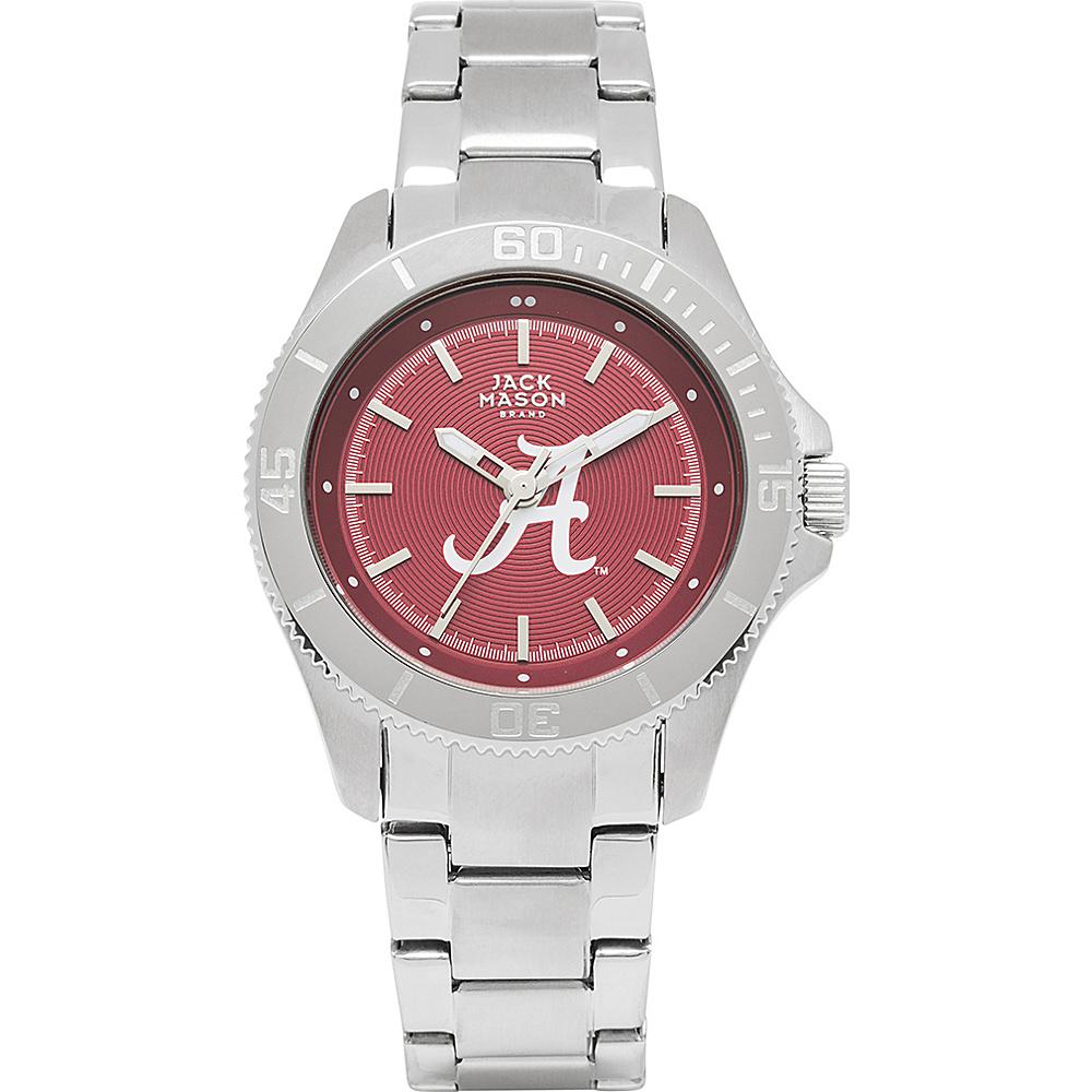 Jack Mason League NCAA Womens Team Color Dial Watch Alabama Crimson Tide - Jack Mason League Watches - Fashion Accessories, Watches