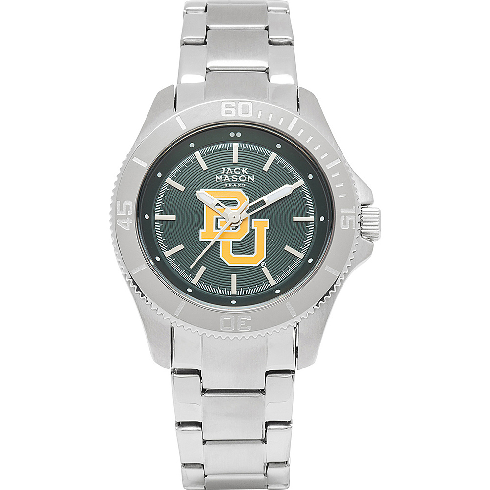 Jack Mason League NCAA Womens Team Color Dial Watch Baylor Bears - Jack Mason League Watches - Fashion Accessories, Watches