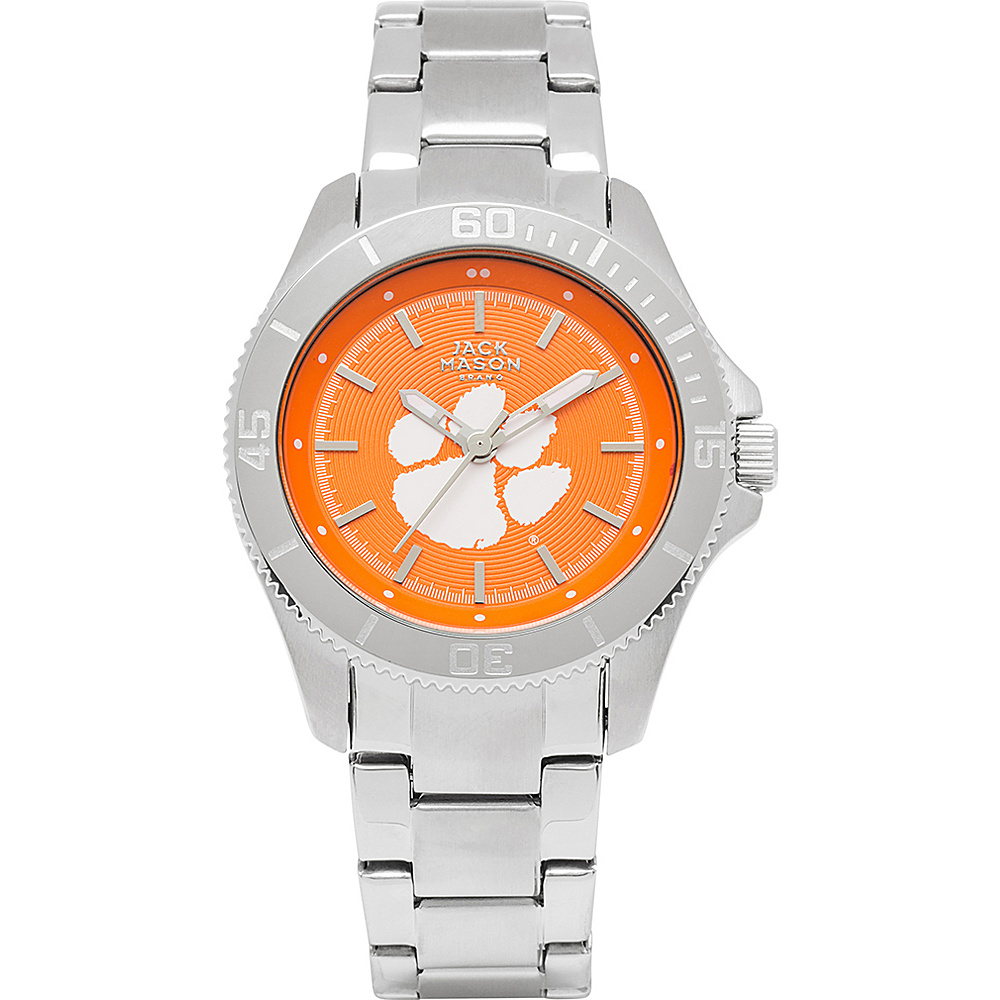 Jack Mason League NCAA Womens Team Color Dial Watch Clemson Tigers - Jack Mason League Watches - Fashion Accessories, Watches