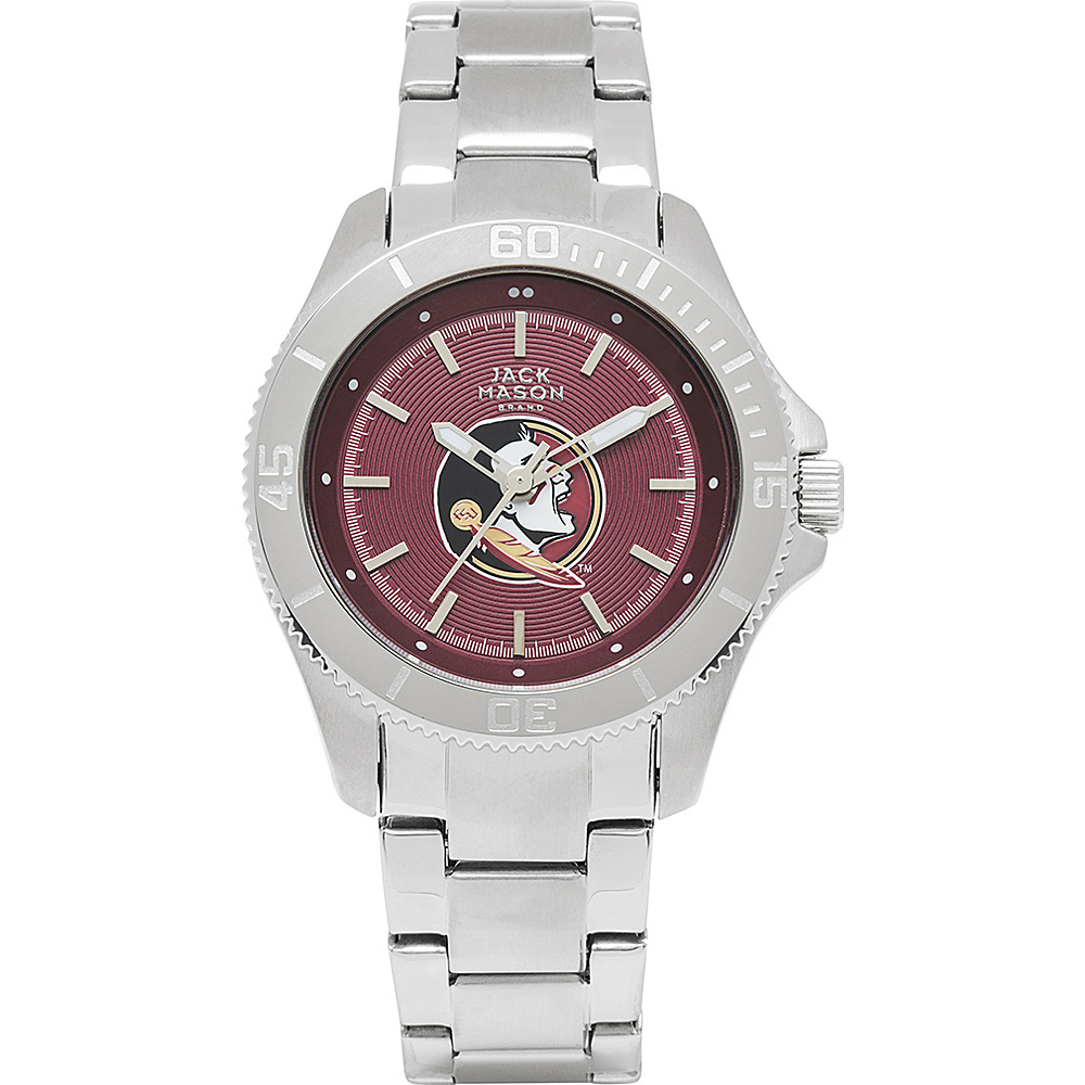 Jack Mason League NCAA Womens Team Color Dial Watch Florida State Seminoles - Jack Mason League Watches - Fashion Accessories, Watches