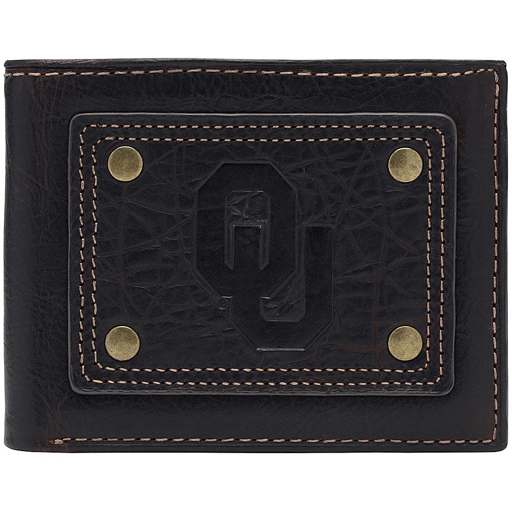 Jack Mason League NCAA Gridiron Traveler Wallet Oklahoma Sooners - Jack Mason League Mens Wallets - Work Bags & Briefcases, Men's Wallets
