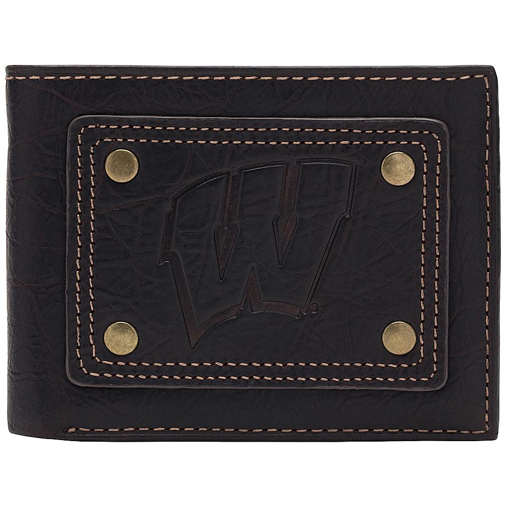 Jack Mason League NCAA Gridiron Traveler Wallet Wisconsin Badgers - Jack Mason League Mens Wallets - Work Bags & Briefcases, Men's Wallets