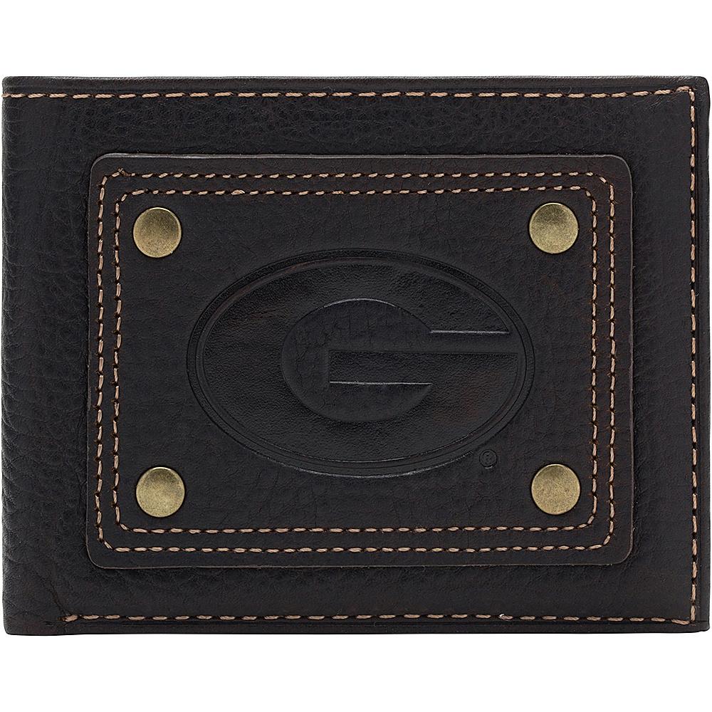 Jack Mason League NCAA Gridiron Traveler Wallet Georgia Bulldogs - Jack Mason League Mens Wallets - Work Bags & Briefcases, Men's Wallets