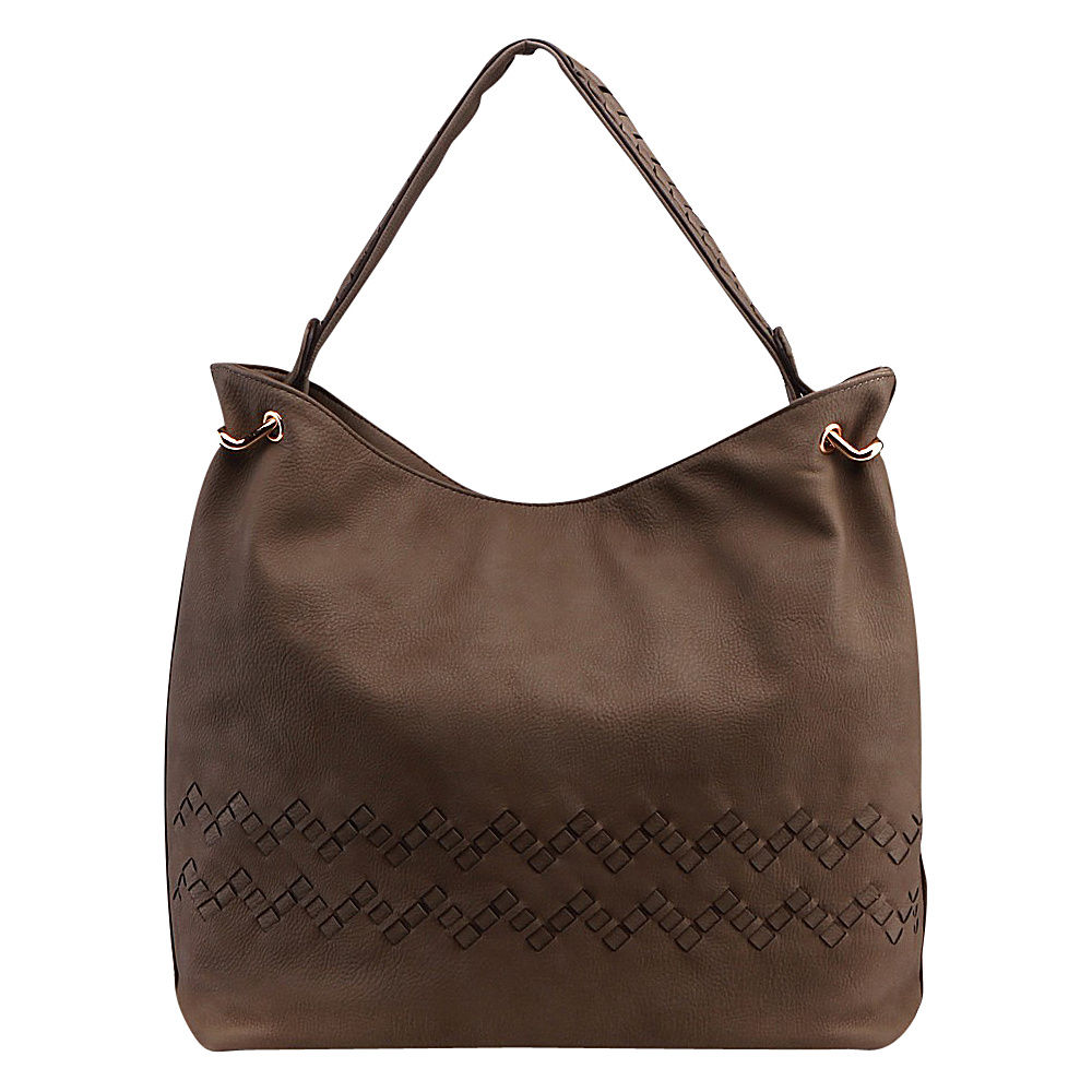 MKF Collection by Mia K. Farrow Boutif Shoulder Bag Tan - MKF Collection by Mia K. Farrow Manmade Handbags - Handbags, Manmade Handbags