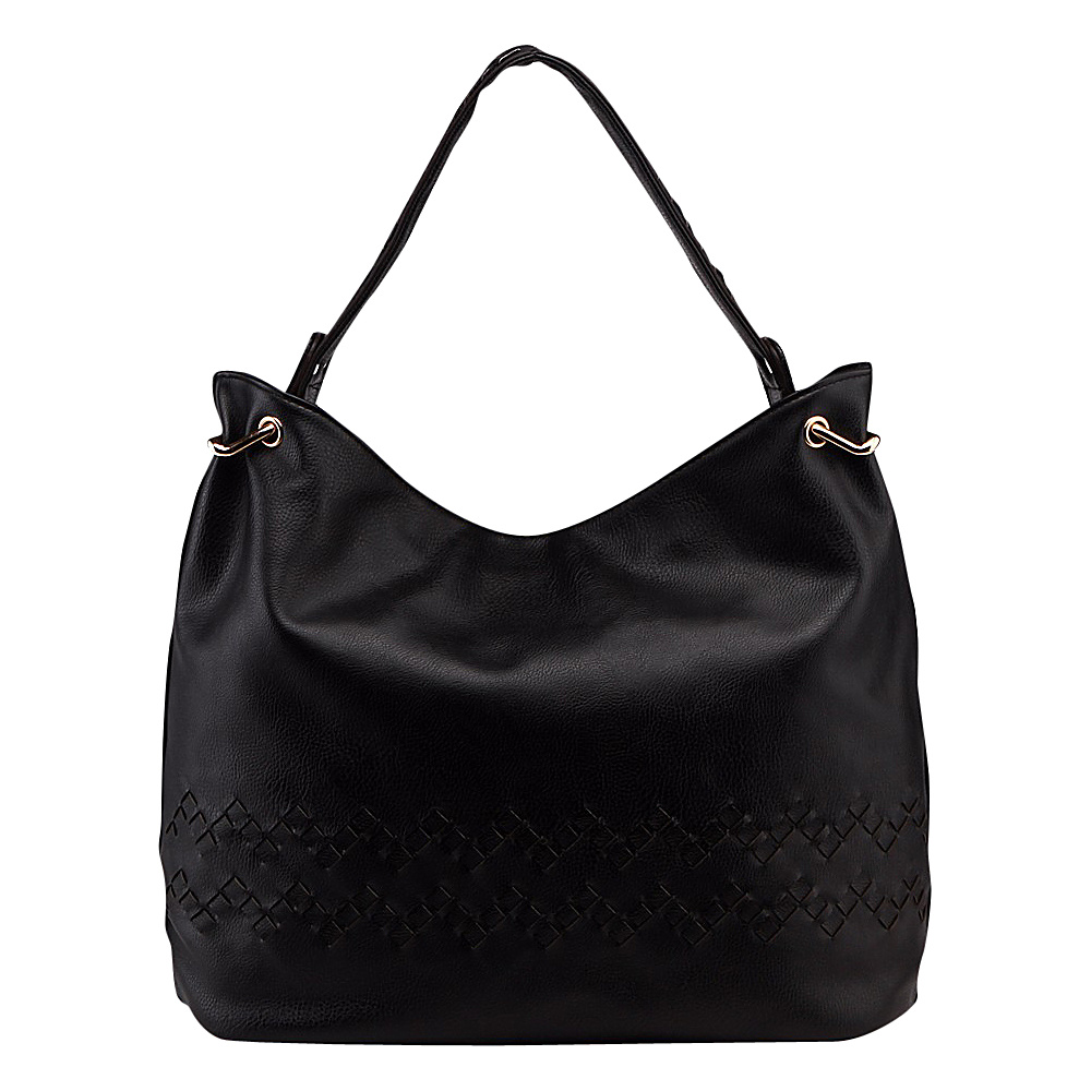 MKF Collection by Mia K. Farrow Boutif Shoulder Bag Black - MKF Collection by Mia K. Farrow Manmade Handbags - Handbags, Manmade Handbags