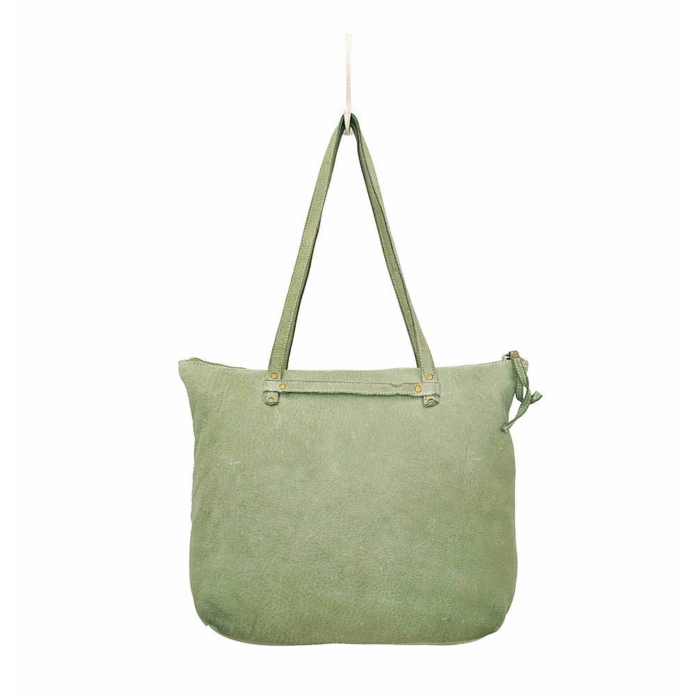 Latico Leathers Weston Tote Washed Green - Latico Leathers Leather Handbags - Handbags, Leather Handbags