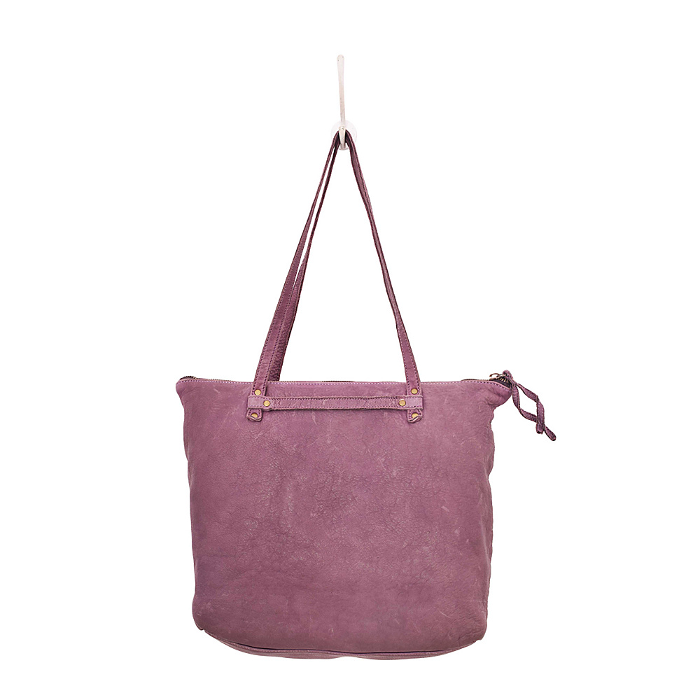 Latico Leathers Weston Tote Washed Purple - Latico Leathers Leather Handbags - Handbags, Leather Handbags