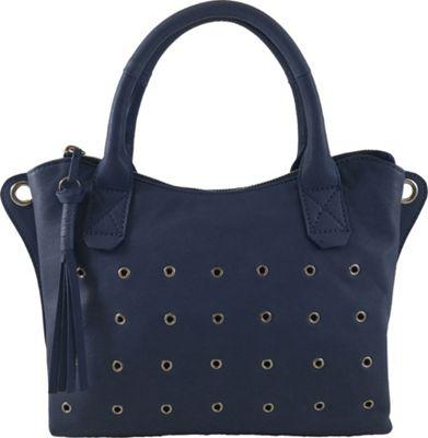 Joelle Hawkens by treesje Brianne Mini Satchel Marlin Blue - Joelle Hawkens by treesje Leather Handbags