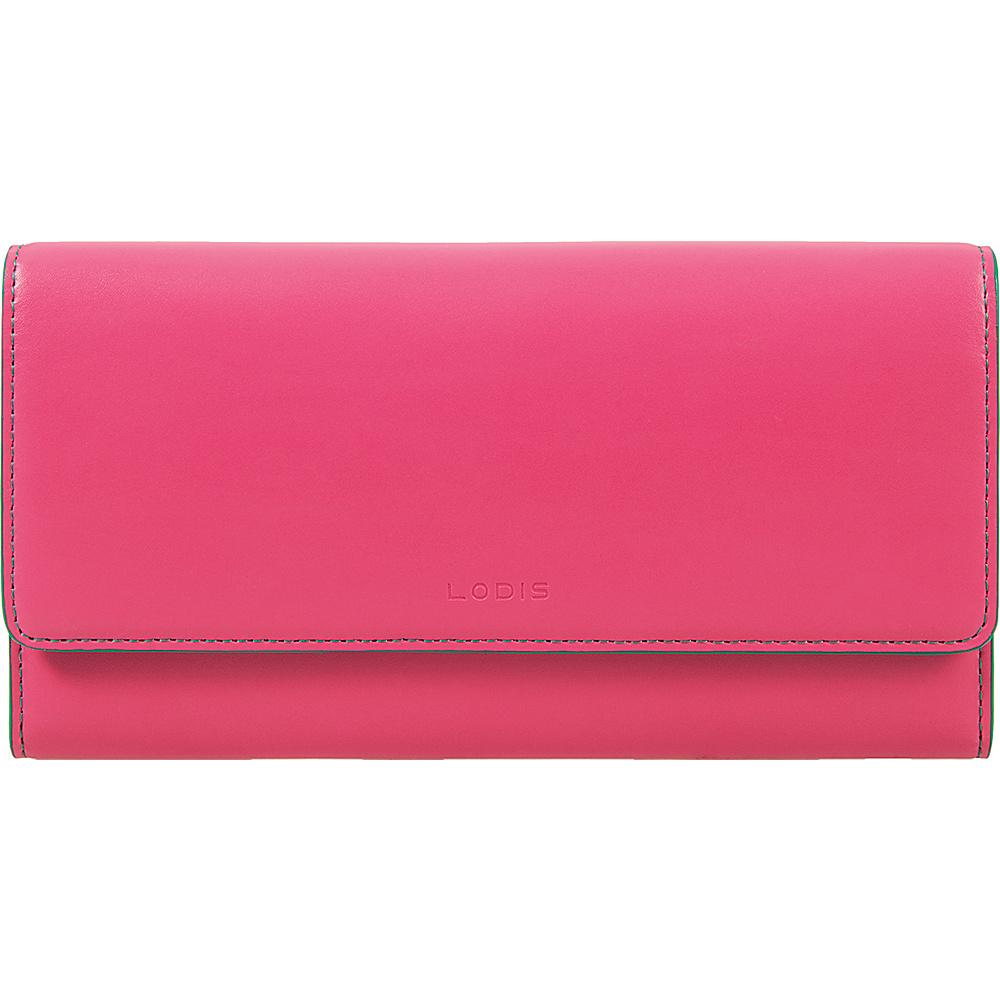 Lodis Audrey Cami Clutch Wallet Azalea/Green - Lodis Womens Wallets - Women's SLG, Women's Wallets