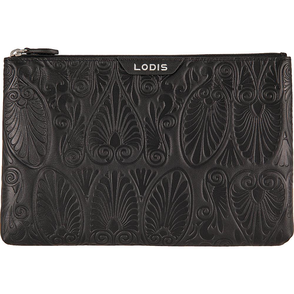 Lodis Denia Flat Pouch Black - Lodis Womens Wallets - Women's SLG, Women's Wallets