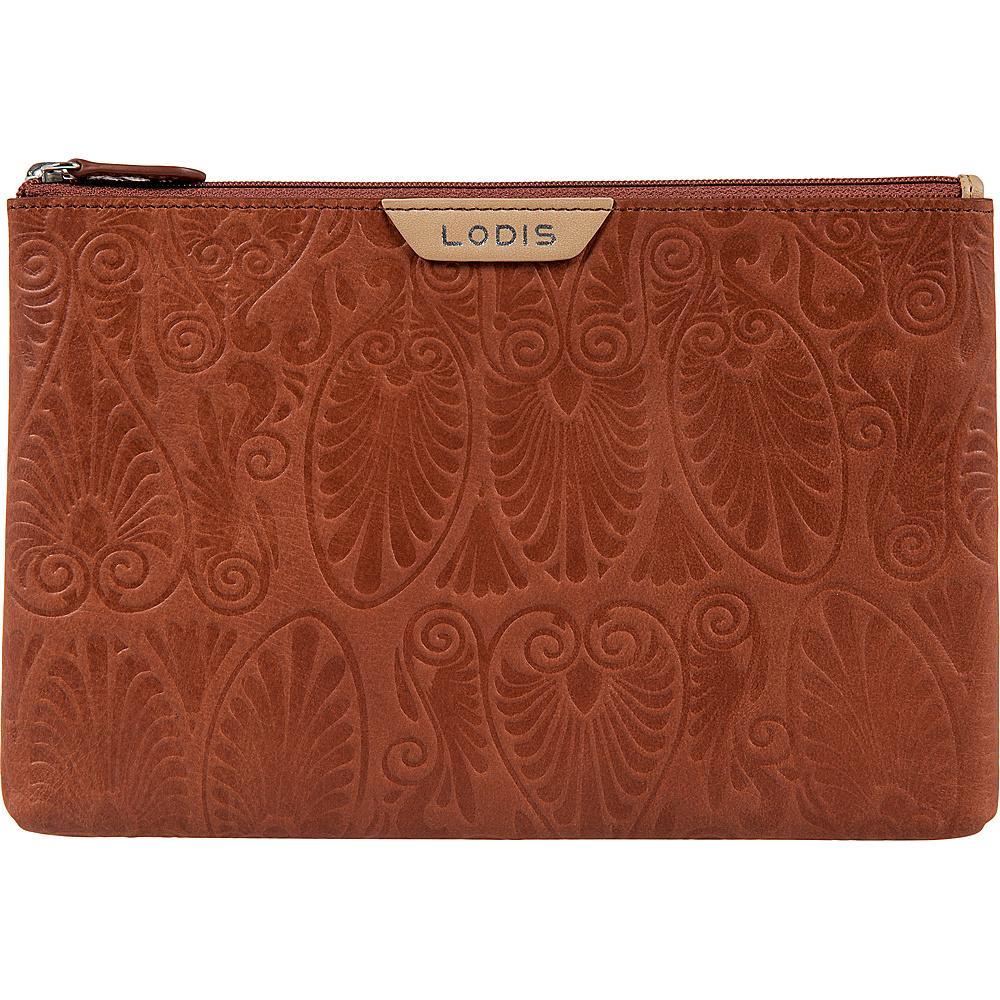 Lodis Denia Flat Pouch Toffee - Lodis Womens Wallets - Women's SLG, Women's Wallets