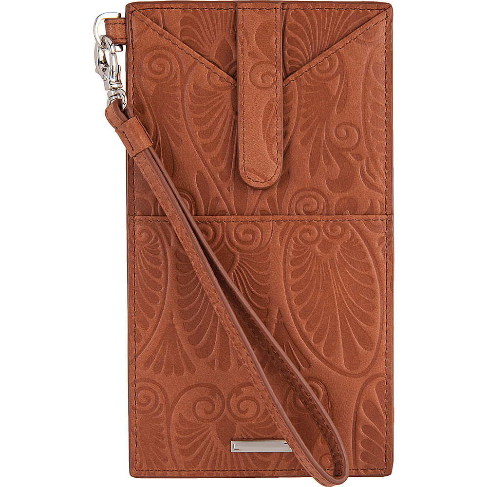 Lodis Denia Ingrid Phone Wallet Toffee - Lodis Womens Wallets - Women's SLG, Women's Wallets