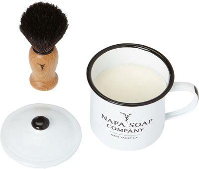 Napa Soap Company Shaving Soap Set Cool Mint - Napa Soap Company Travel Comfort and Health