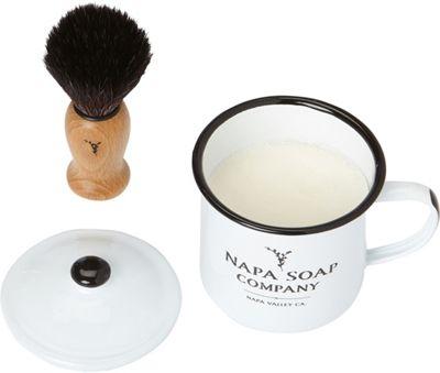 Napa Soap Company Shaving Soap Set Vintner's Blend - Napa Soap Company Travel Comfort and Health