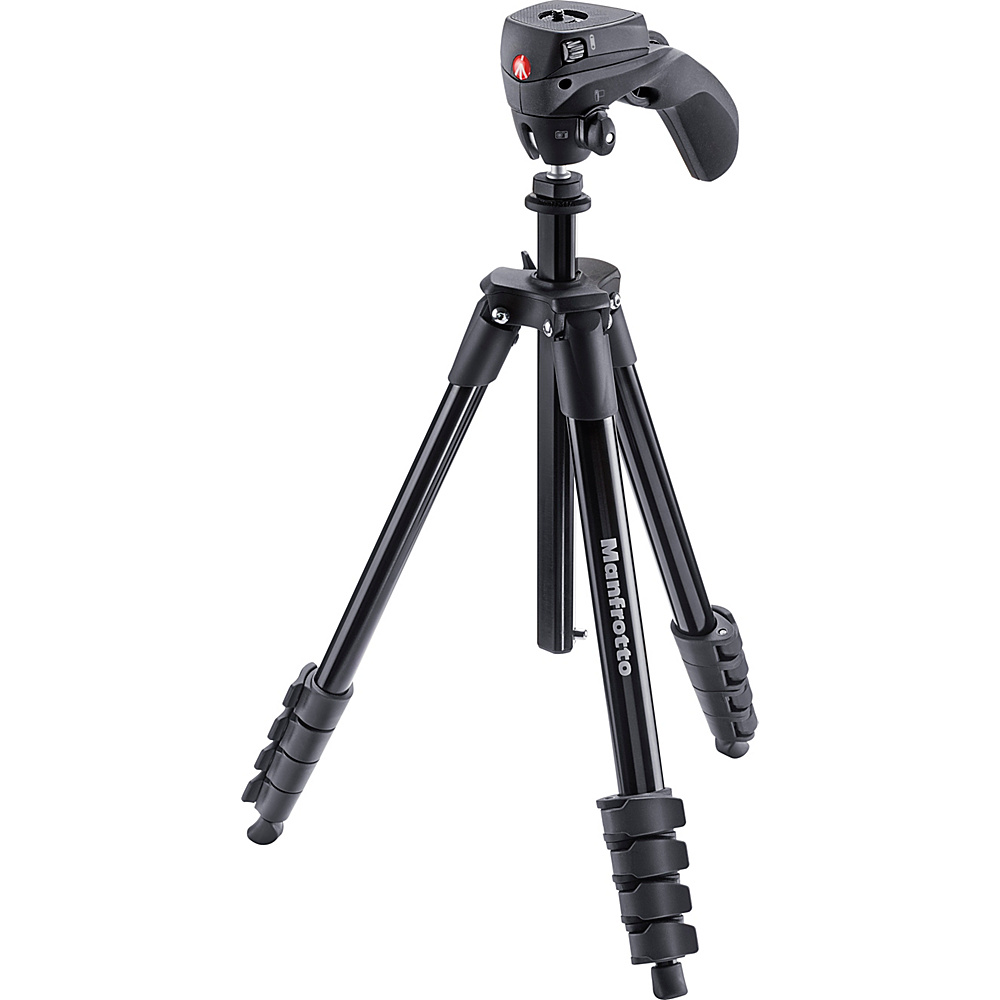 Manfrotto Bags Compact Tripod With 3 Way Grip Black Manfrotto Bags Camera Accessories