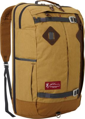 Browning Jackson Carry-On Travel Pack Tan - Browning Travel Backpacks