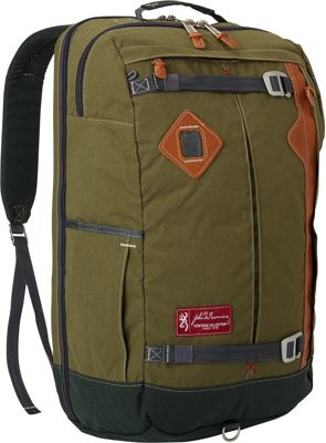 Browning Jackson Carry-On Travel Pack Green - Browning Travel Backpacks
