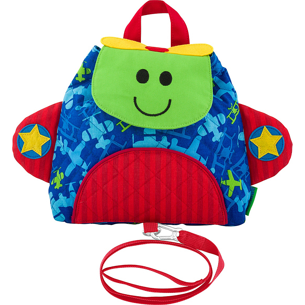 Stephen Joseph Little Buddy Bag with Harness Airplane - Stephen Joseph Kids Backpacks - Backpacks, Kids' Backpacks