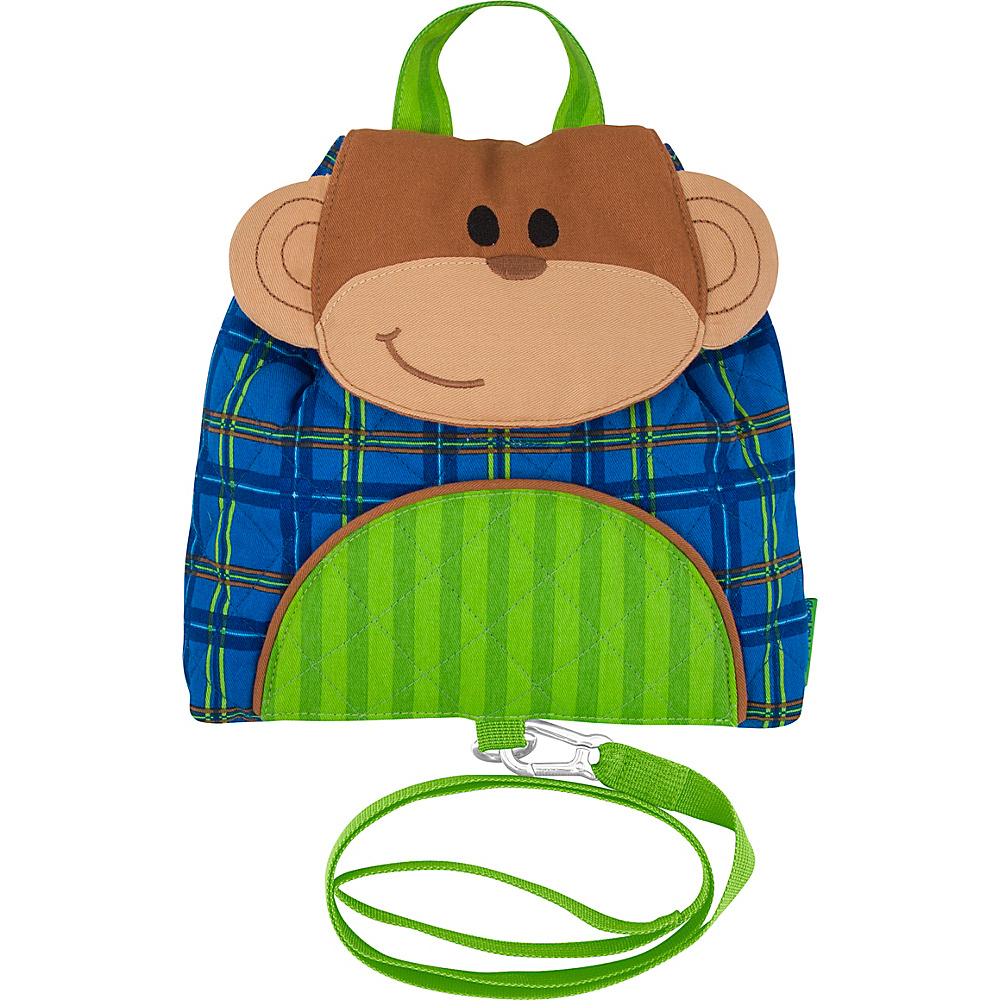 Stephen Joseph Little Buddy Bag with Harness Monkey - Boy - Stephen Joseph Kids Backpacks - Backpacks, Kids' Backpacks