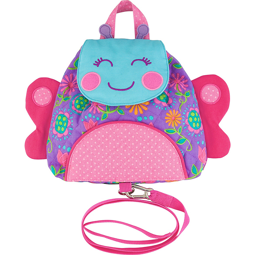 Stephen Joseph Little Buddy Bag with Harness Butterfly - Stephen Joseph Kids Backpacks - Backpacks, Kids' Backpacks