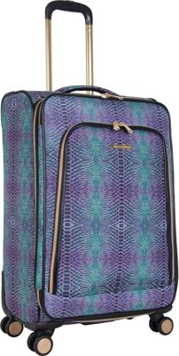 Aimee Kestenberg Sydney 24 inch Expandable Spinner Marine Python - Aimee Kestenberg Large Rolling Luggage