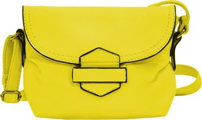 MoDa Buttersoft Downtown Crossbody Lemon - MoDa Manmade Handbags