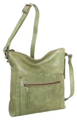 Nino Bossi Tere Crossbody Avocado - Nino Bossi Leather Handbags