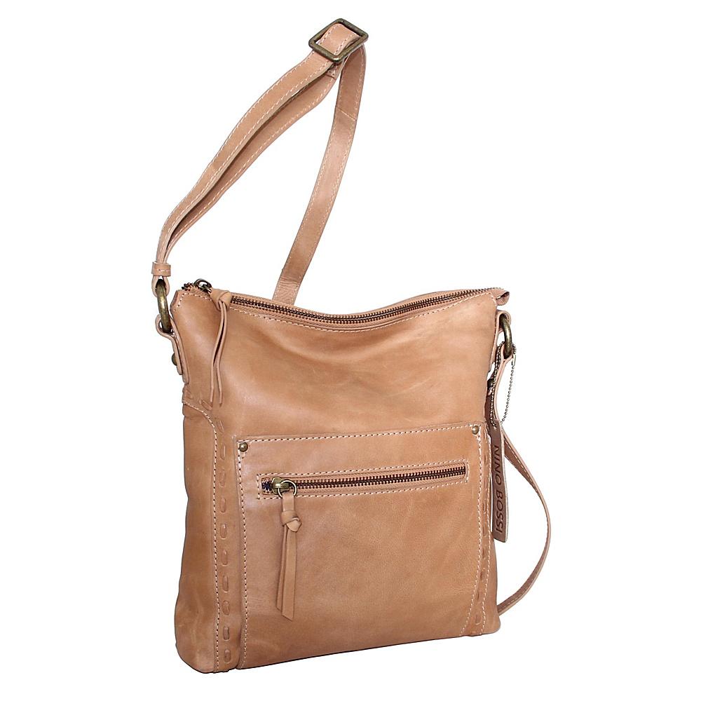 Nino Bossi Tere Crossbody Nut - Nino Bossi Leather Handbags - Handbags, Leather Handbags