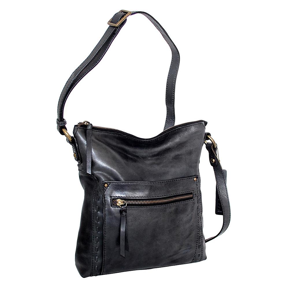 Nino Bossi Tere Crossbody Black - Nino Bossi Leather Handbags - Handbags, Leather Handbags